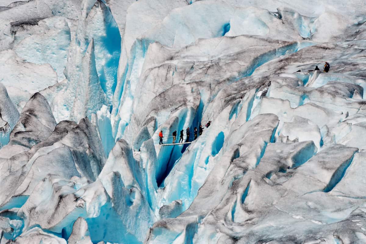 Gletschertastisch