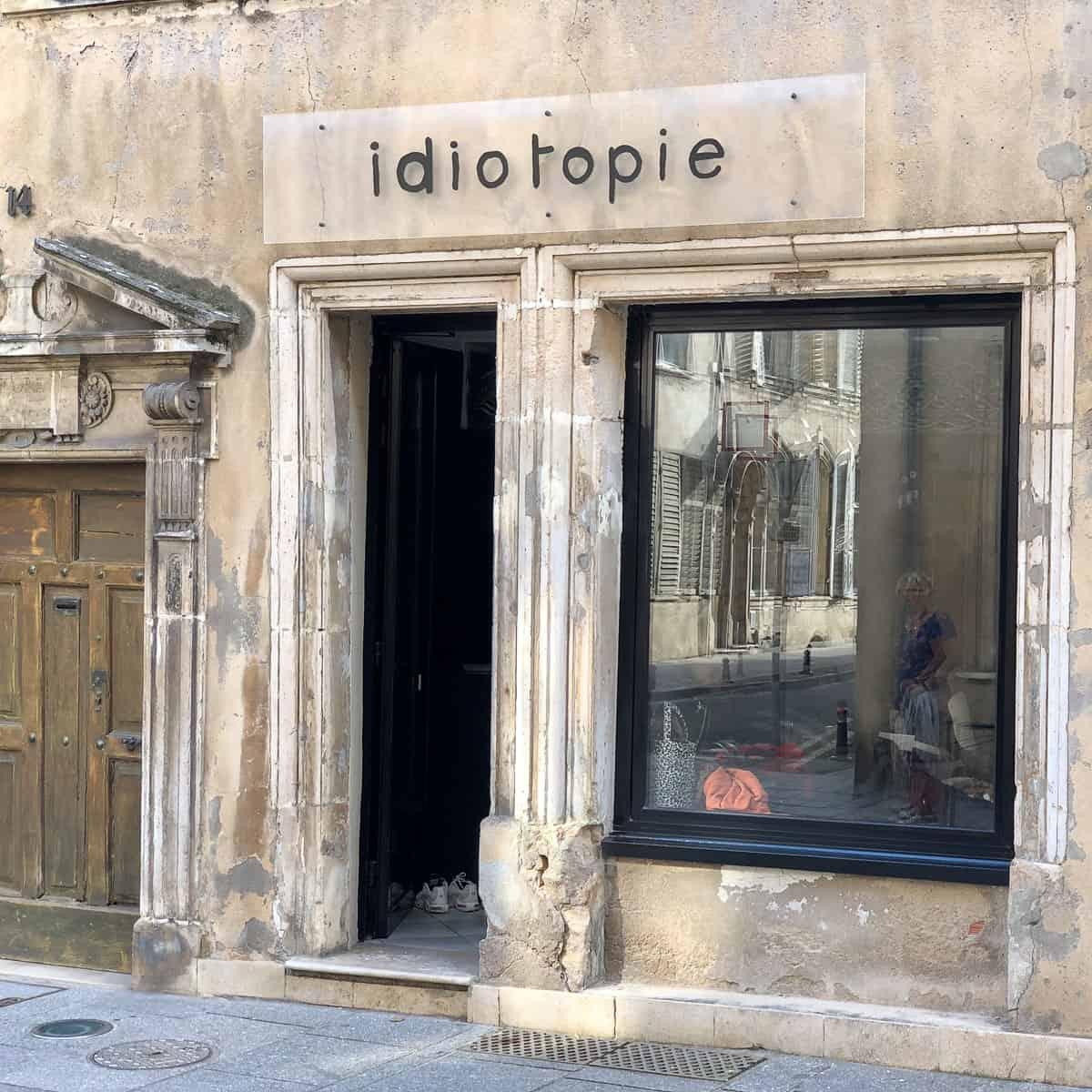Idiotopie