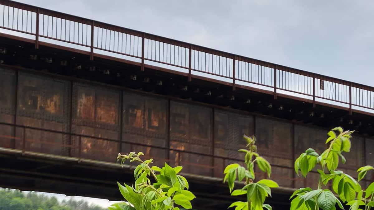Brücke Sollingbahn Detail