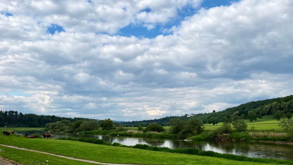 Pause an der Weser 2