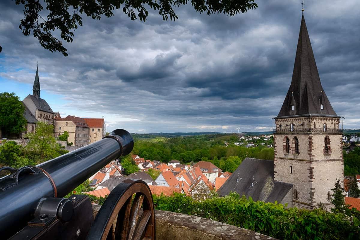 Dächer Altstadt Warburg