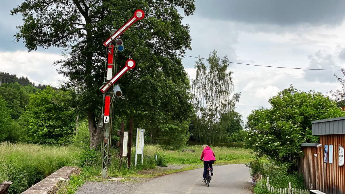 Abfahrt Kyllradweg