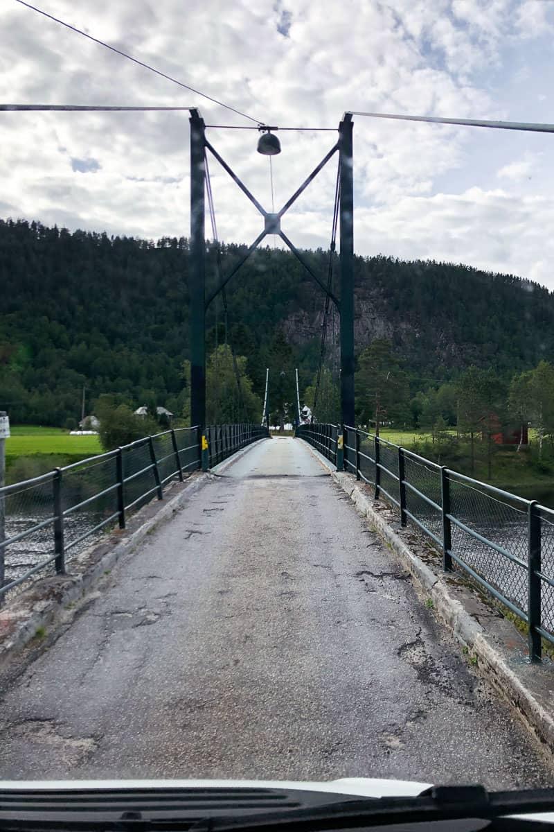 Brücke über die Kvina