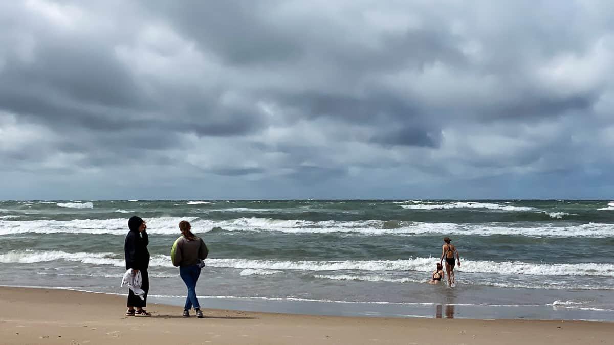 Baden in der Nordsee