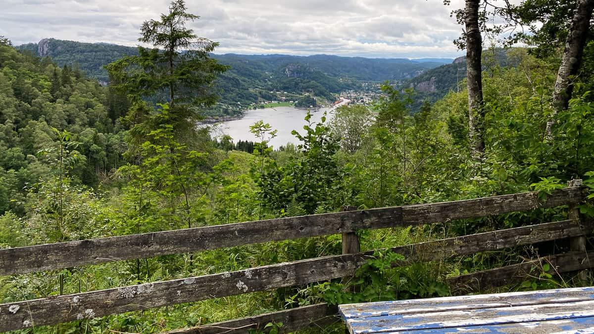 Ausblick Fedafjord