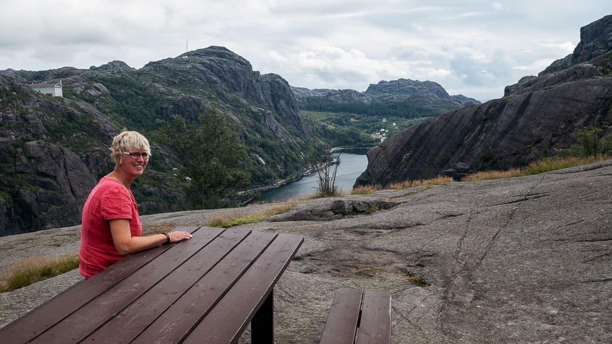 Aussicht Jøssingfjord